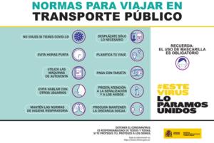 normas transporte publico frente al covid