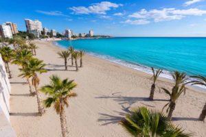 Escapadas a la playa en tren: Alicante 1
