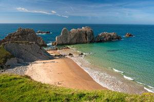 Guía de las mejores playas del Cantábrico.
