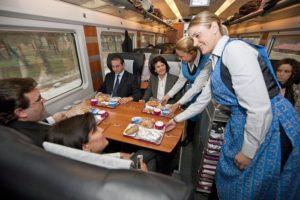 Servicio de restauración en trenes y AVE