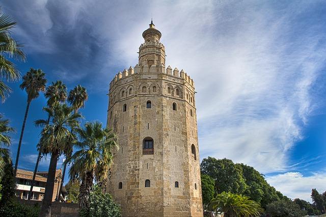 Ave madrid Sevilla, visita torre del oro