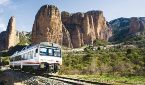 Descubre el tren Geológico del Prepirineo