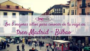 Los 5 mejores sitios para conocer en tu viaje en tren Madrid - Bilbao